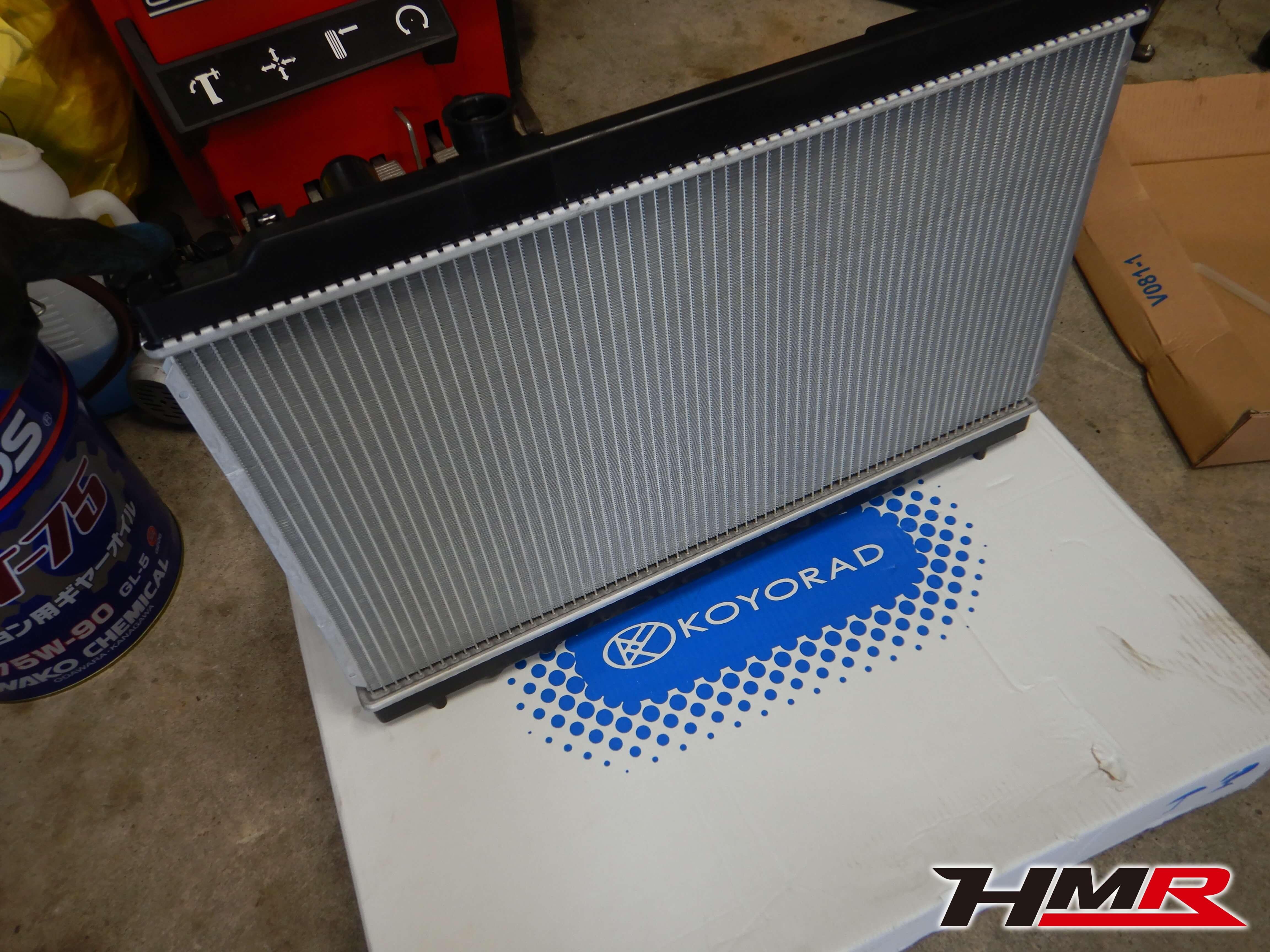 インテグラタイプR(DC2) ラジエター交換