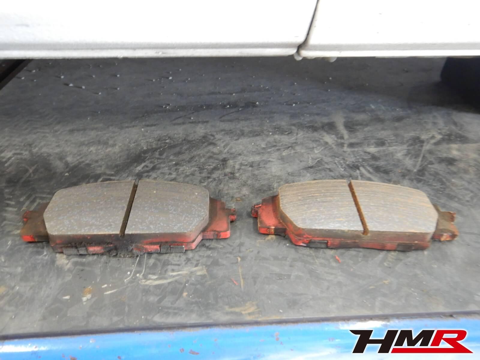 S2000 AP1 ブレーキパッド点検