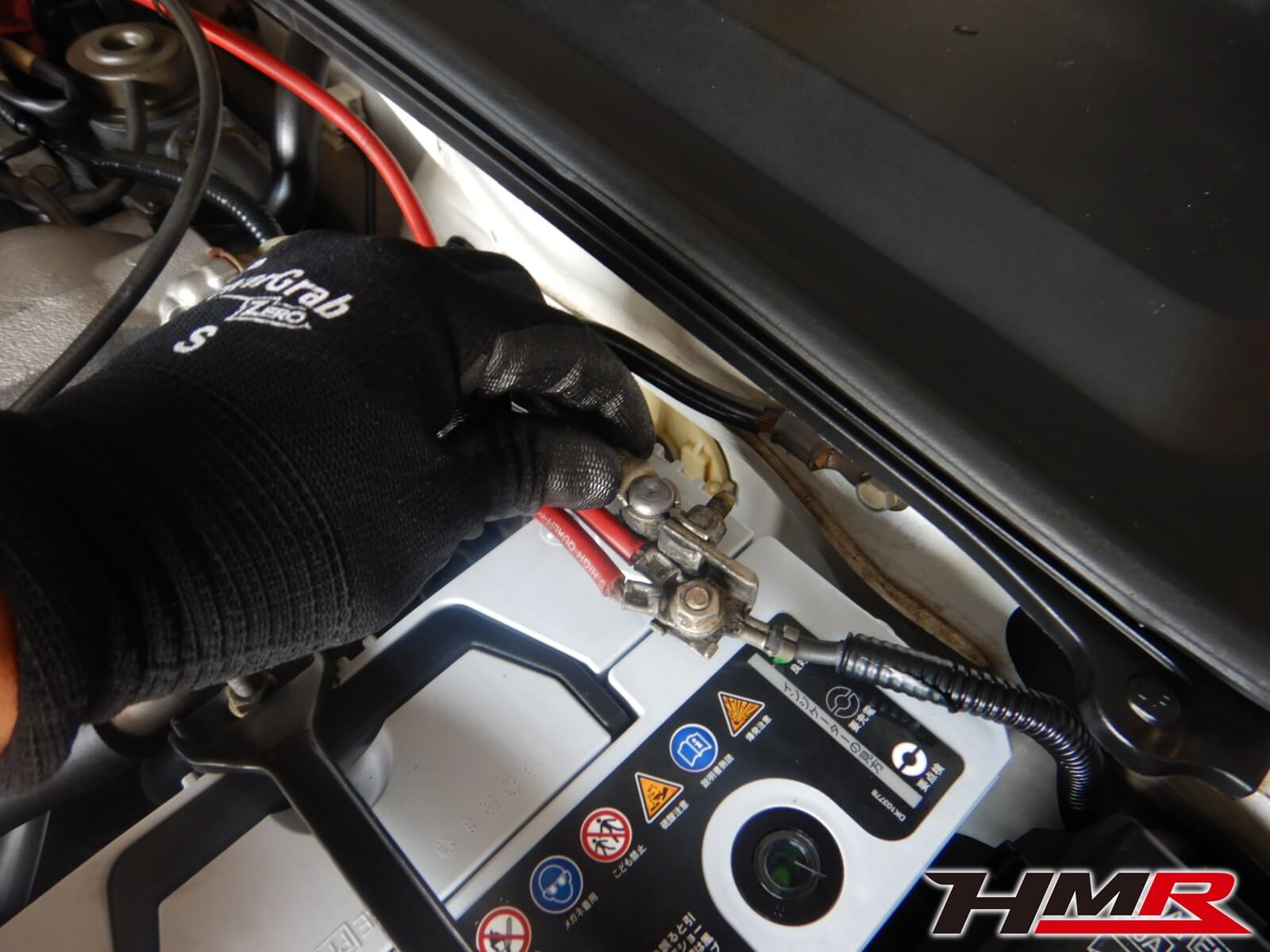 S2000 AP1 バッテリー点検