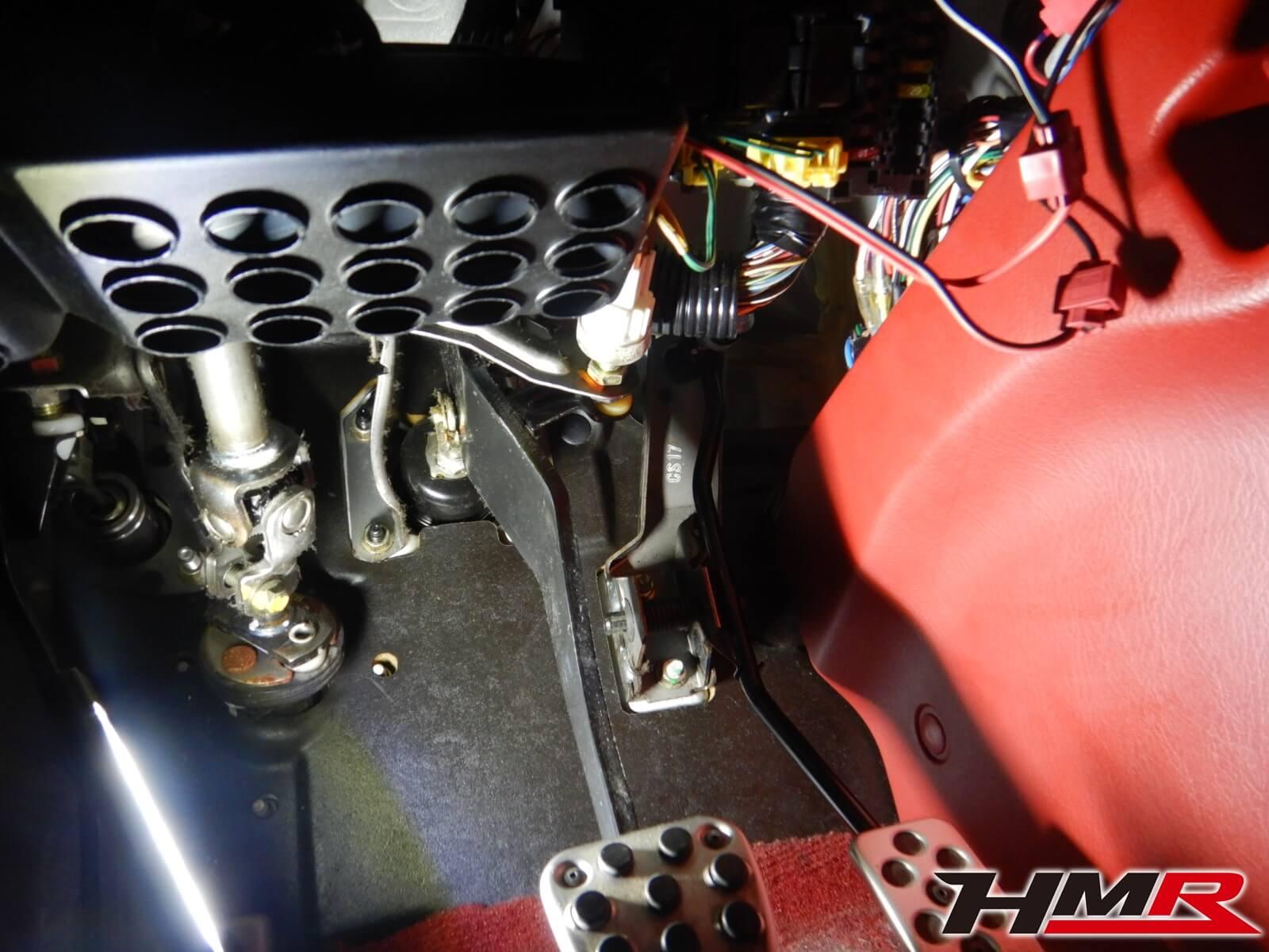 S2000(AP1) ブレーキスイッチストッパー交換