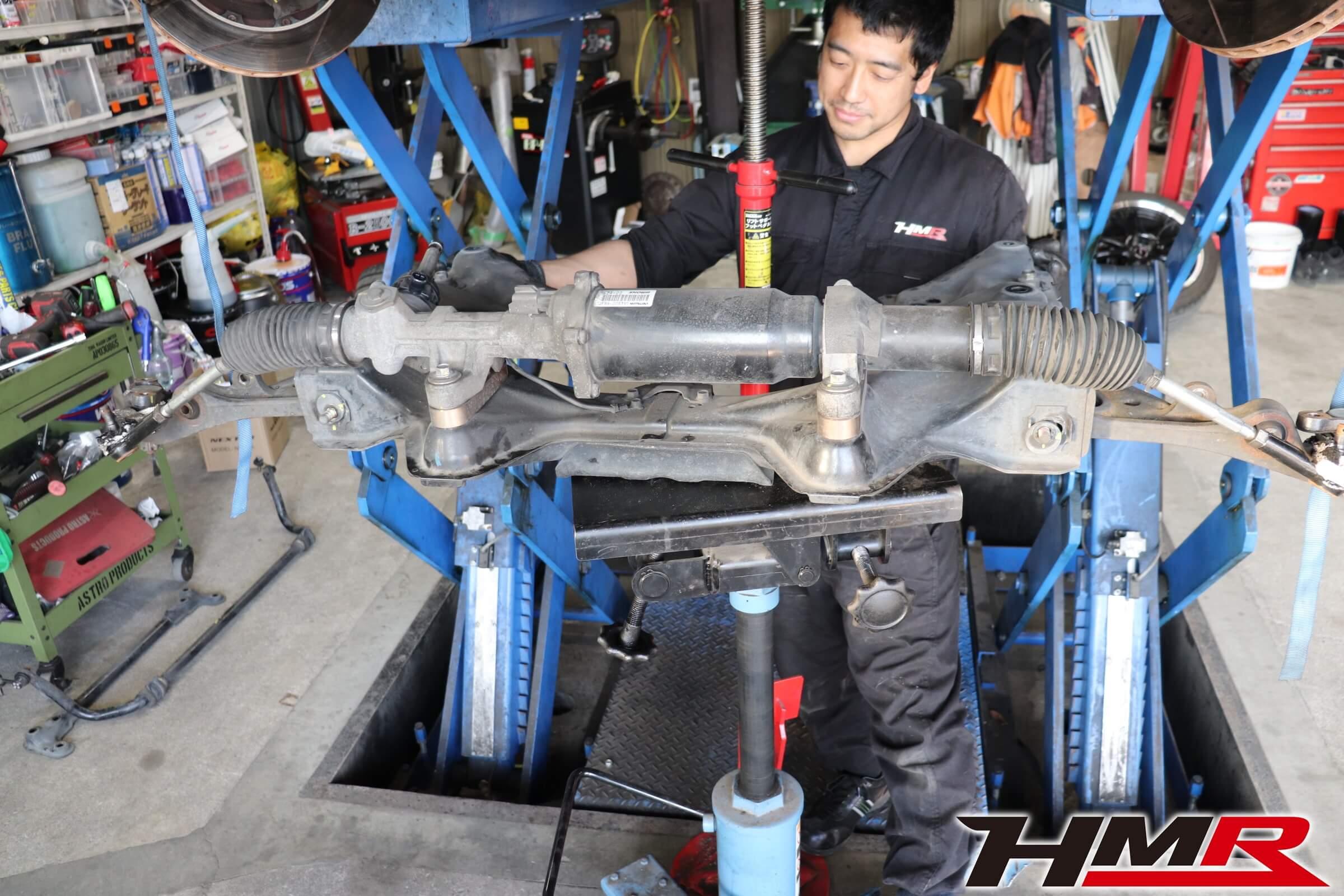 HMR S2000フロントサブフレーム交換