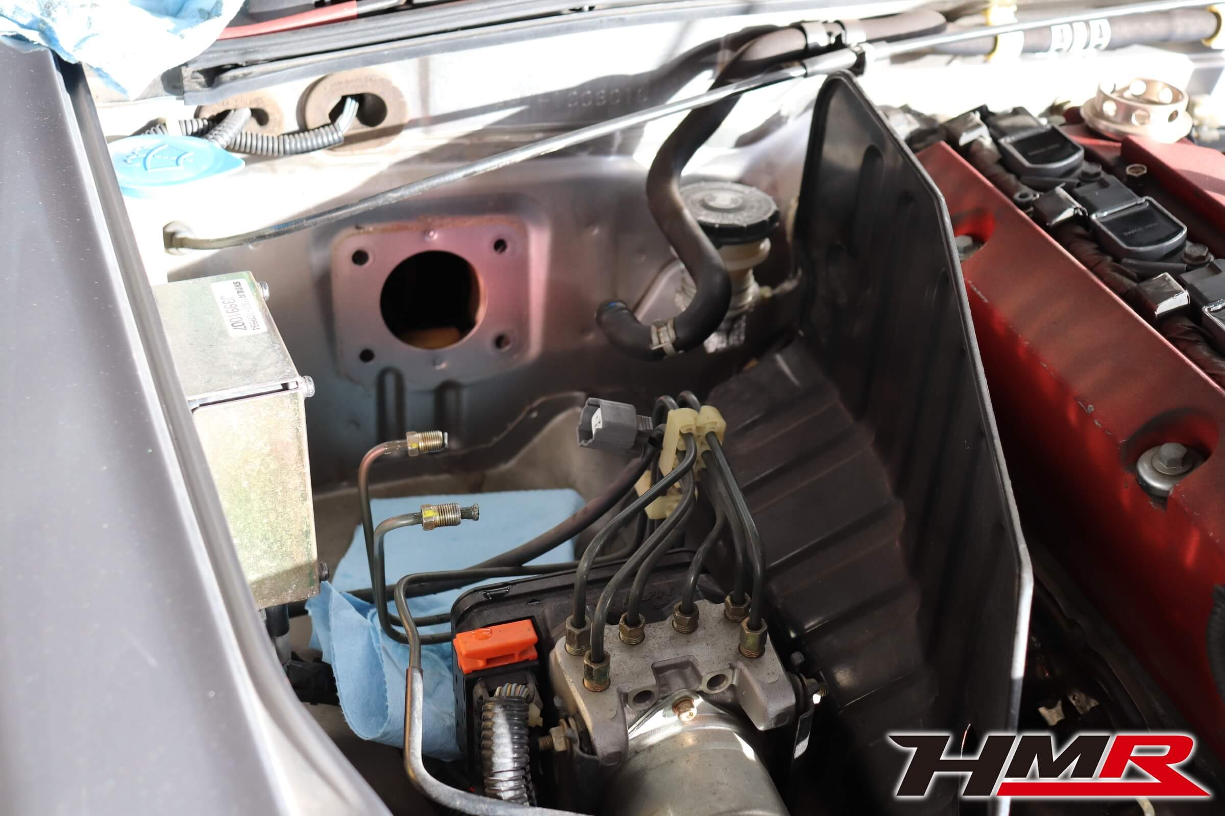 HMR S2000 ブレーキマスターバックとシリンダー交換