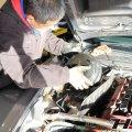 デモカーS2000のブレーキマスターバック、マスターシリンダーの交換