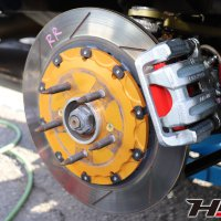HMR S2000 ブレーキ交換