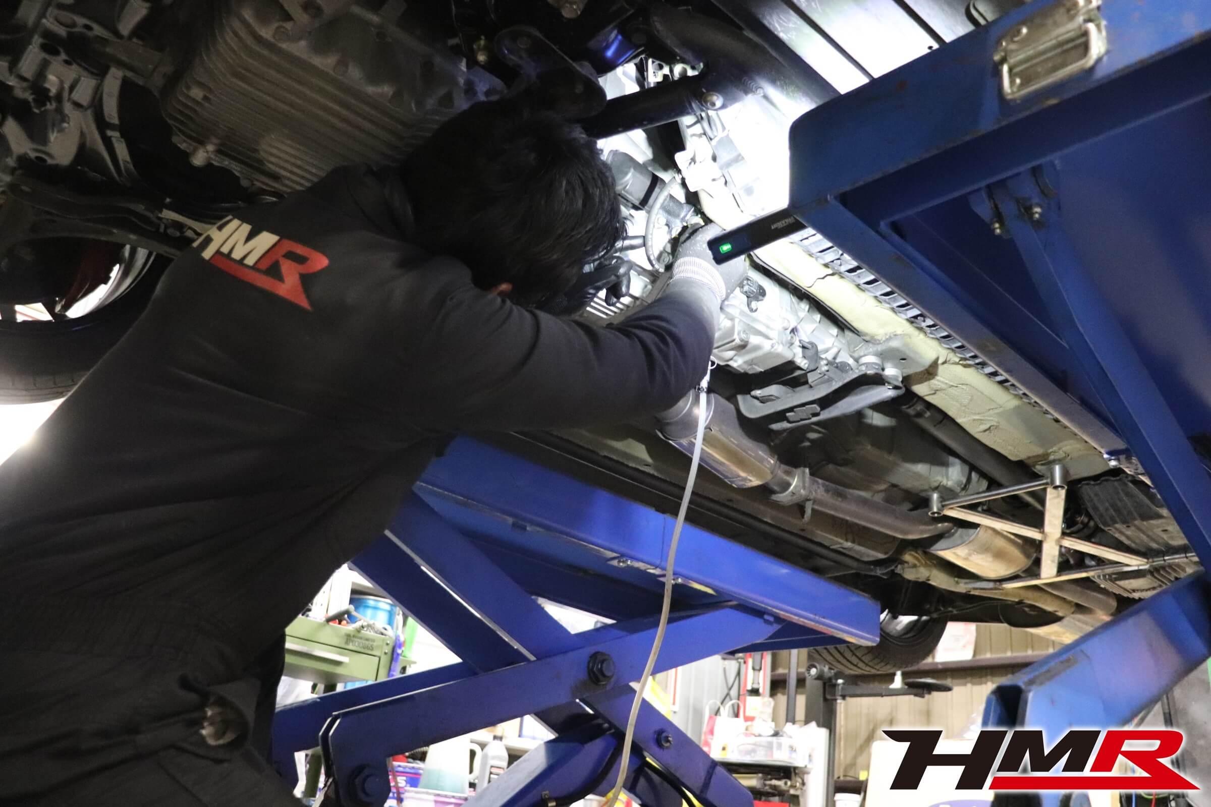 HMRS2000 J'sracing強化クラッチスレーブシリンダー交換
