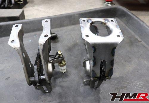 HMR S2000 ASM強化ブレーキペダルと純正ブレーキペダル