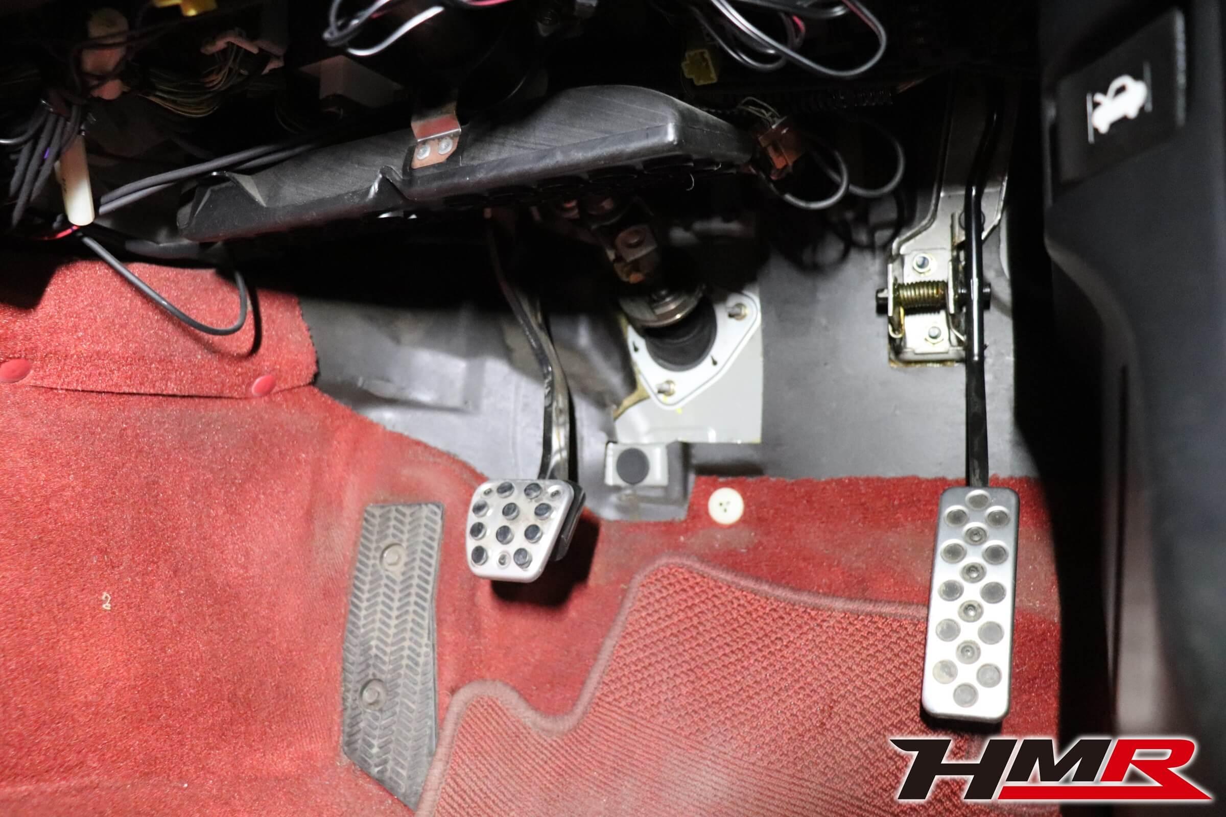 HMR S2000 ASM強化ブレーキペダル交換