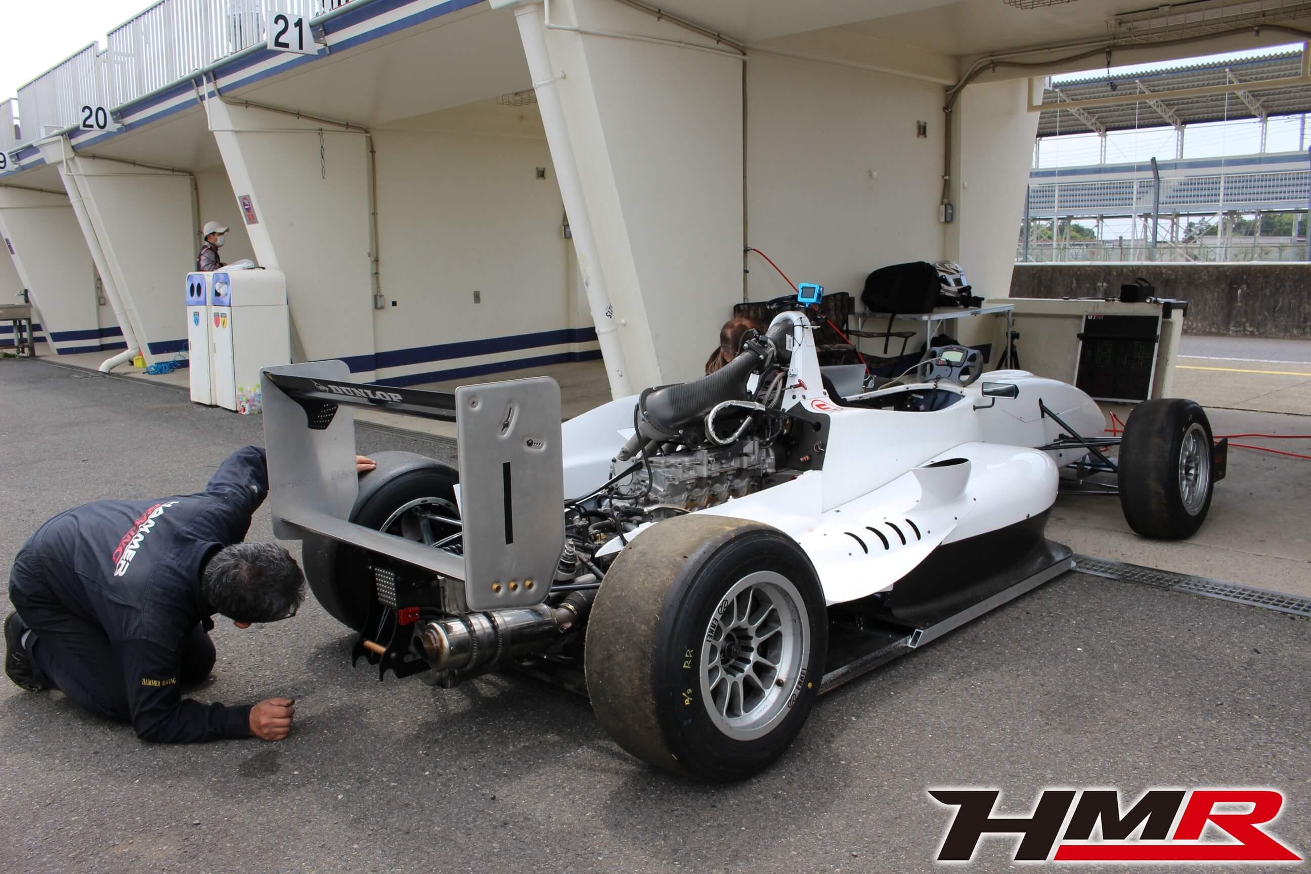 HMR JAF F4マシン