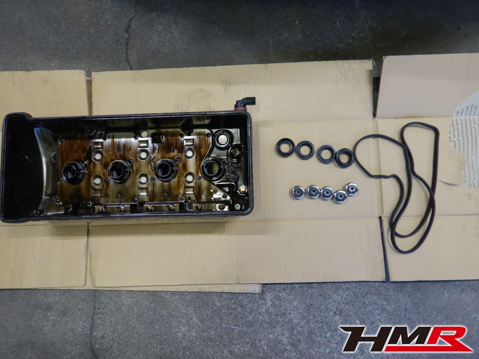S2000(AP1)ヘッドカバーパッキン交換