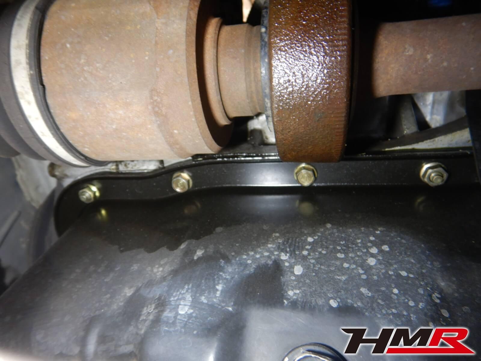 シビックタイプR(EK9) オイル漏れ修理