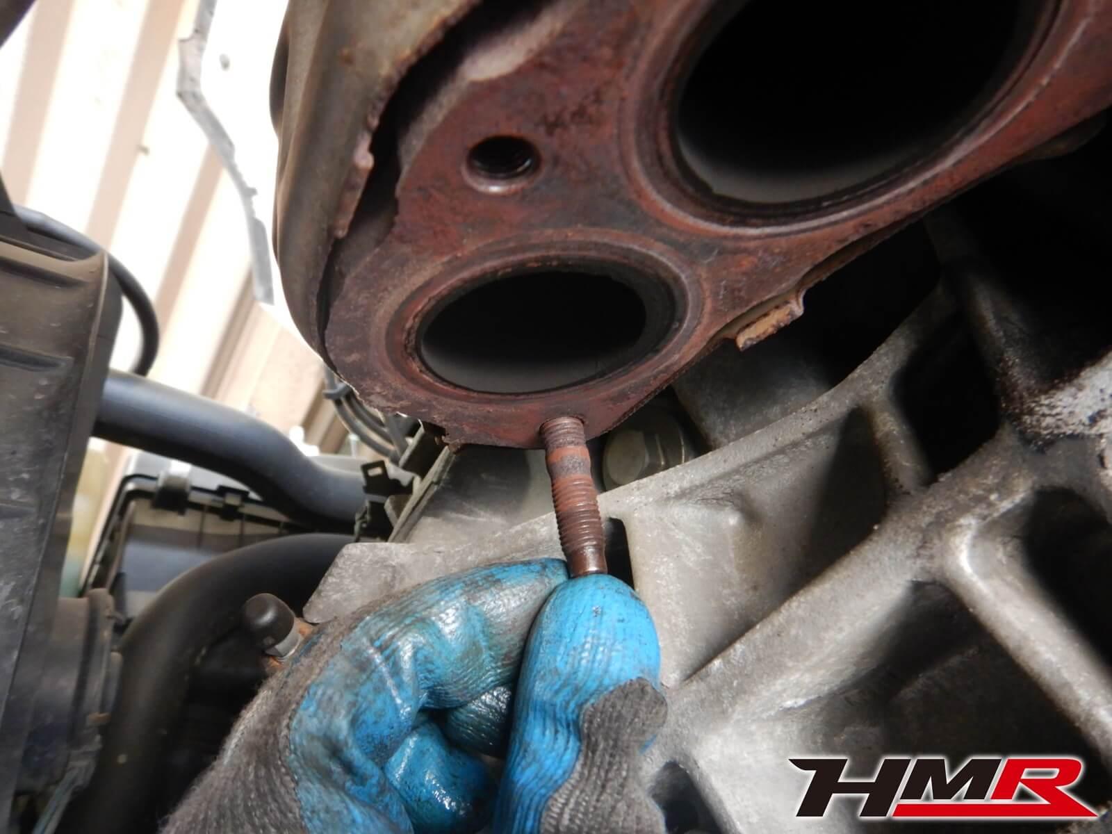 シビックタイプR(EK9) スタッドボルト修理