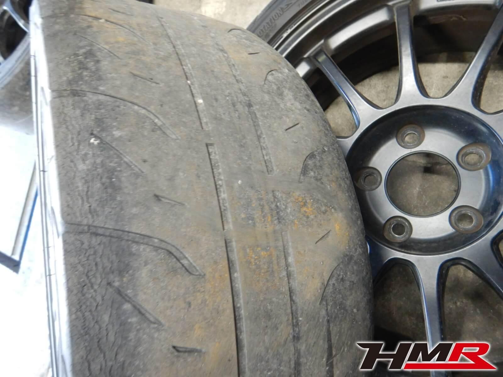 シビックタイプR(FD2) タイヤ組み換え