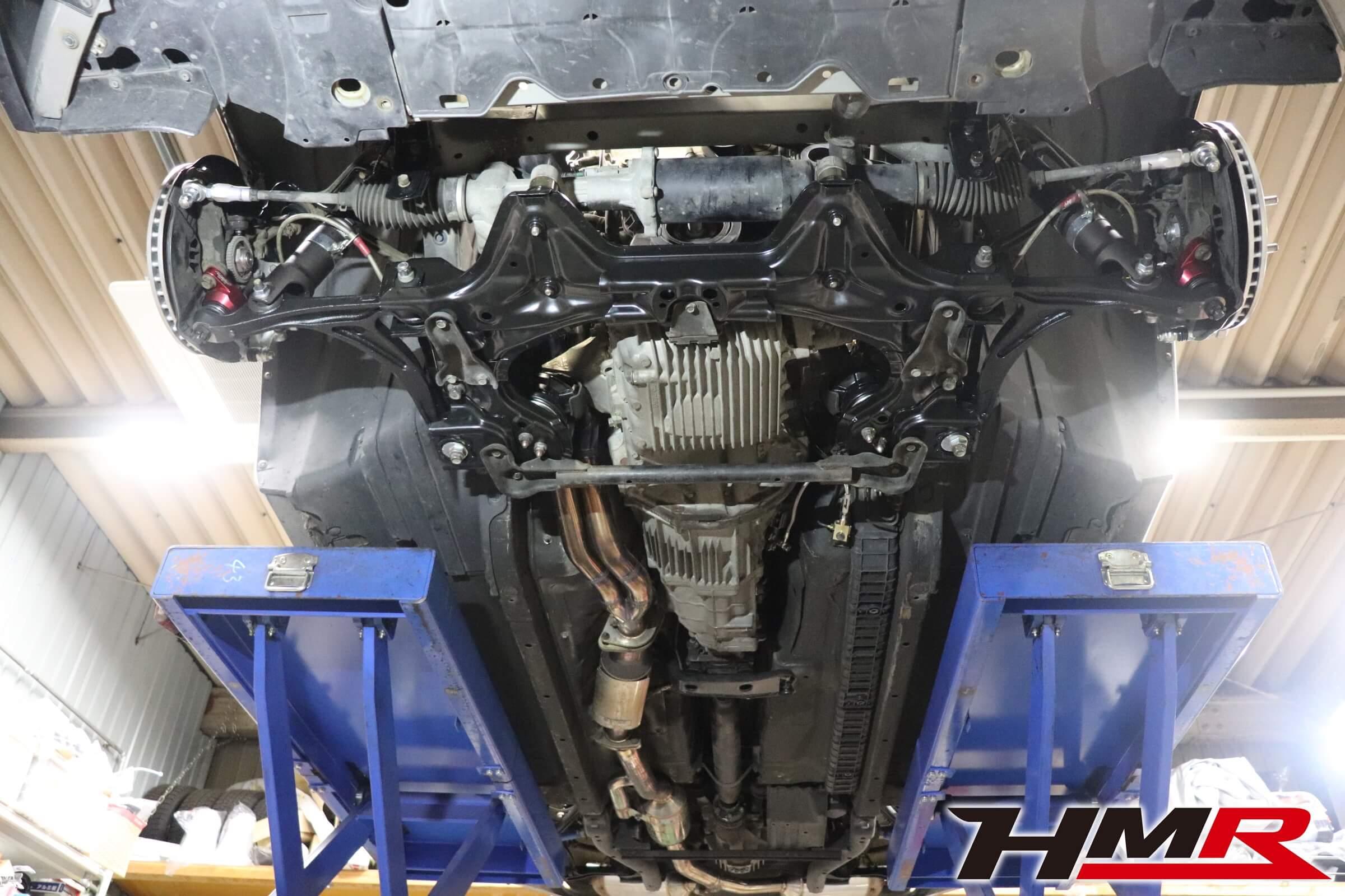 HMR デモカー S2000(AP2) シャーシフルリフレッシュ