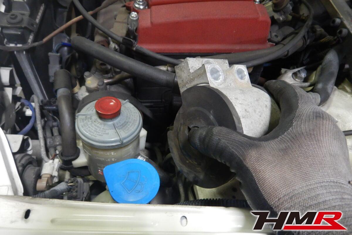 インテグラタイプR(DB8) エンジンミッションマウント交換